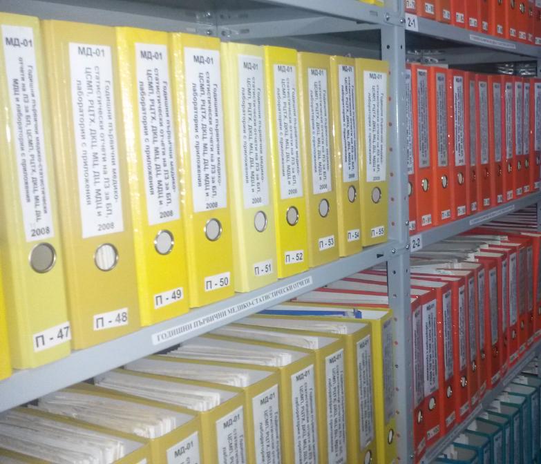 Подреждане на архиви, организиране и подреждане на документи